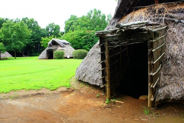 縄文時代の堅穴式住居